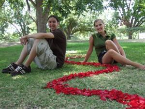 Ricky and Stephanie, Zilker Trek guides